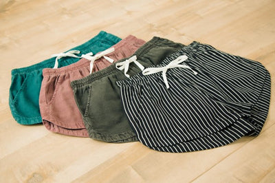 TRENDING: COTTON SHORTS