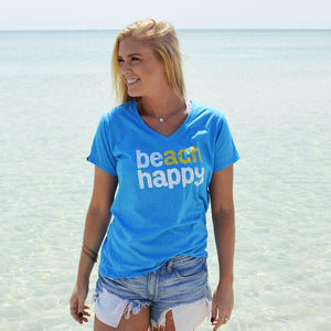 30A® Beach Happy Tee (Blue)