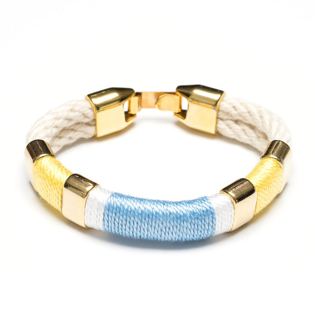 Allison Cole Newbury Bracelet (Ivory/Yellow/White/Blue/Gold)
