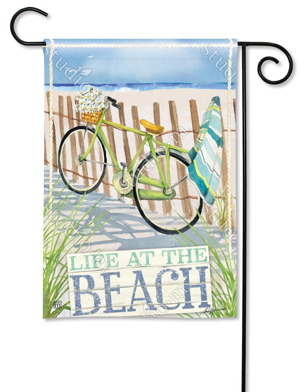 Beach Trail Garden Flag