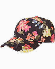 Billabong® Beach Club Baseball Cap (Black Floral)