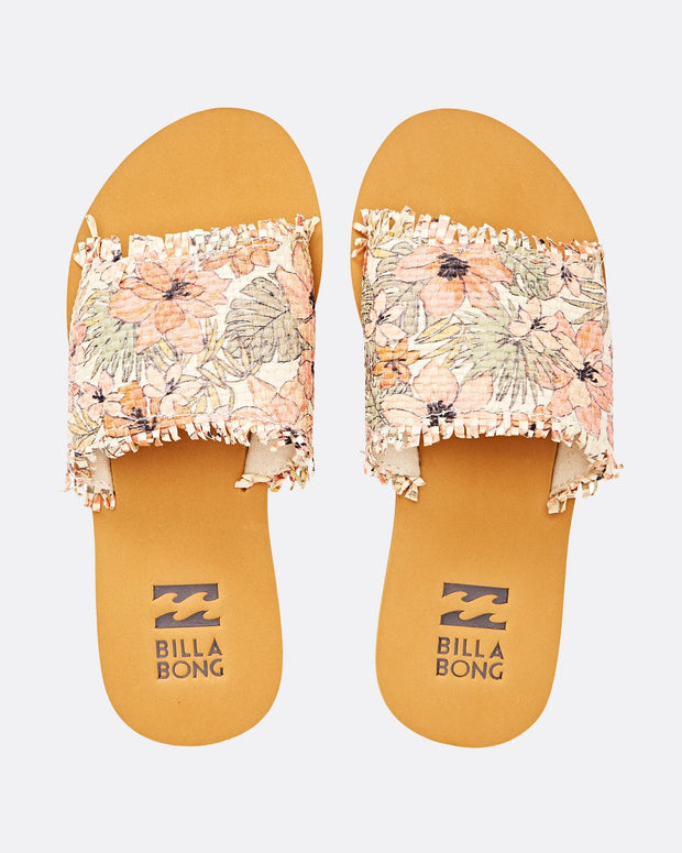 Billabong® Salty But Sweet Slide Sandal (Natural)