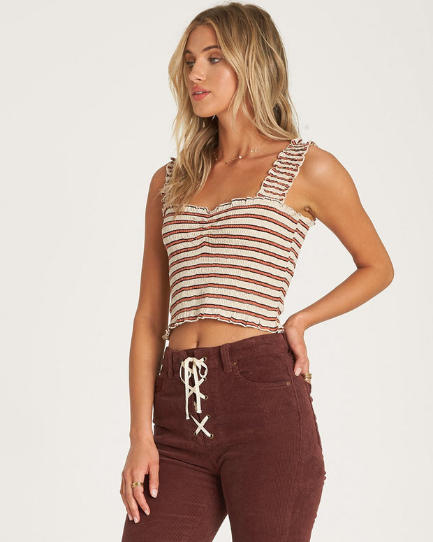 Billabong® Sun Dreamer Crop Top (Whisper)