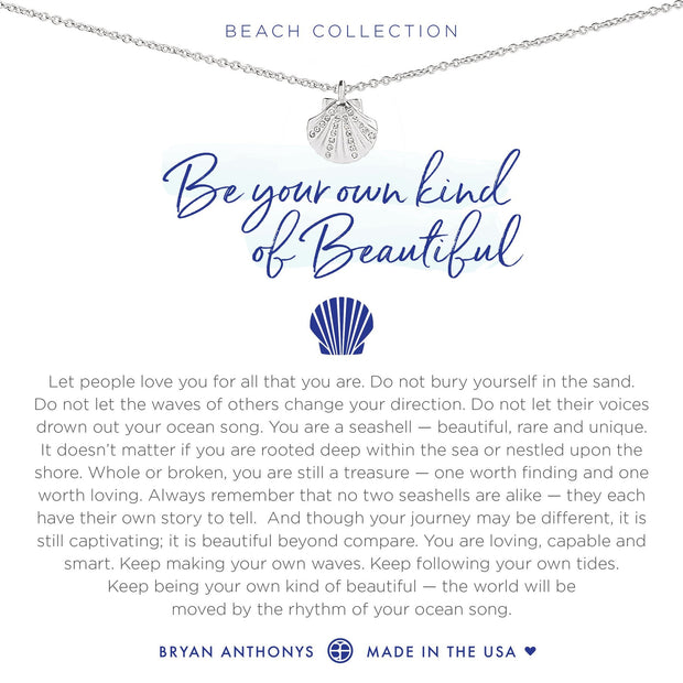 Bryan Anthonys Be Your Own Kind Of Beautiful Necklace - Silver