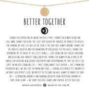 Bryan Anthonys Better Together Moon Necklace - Gold