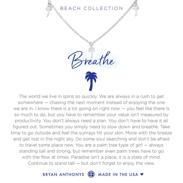Bryan Anthonys Breathe Anklet