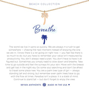 Bryan Anthonys Breathe Necklace - Rose Gold