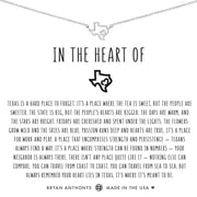 Bryan Anthonys In the Heart of Texas Necklace - Silver