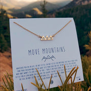 Bryan Anthonys Move Mountains Necklace (Gold)