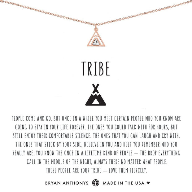 Bryan Anthonys Tribe Friendship Necklace - Rose Gold
