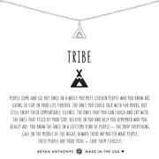 Bryan Anthonys Tribe Friendship Necklace - Silver