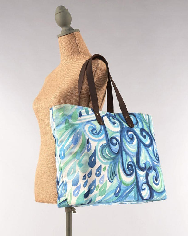 Water Element Swells Tote by Cherish Flieder