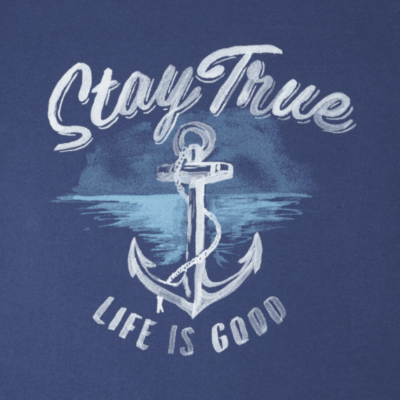 Life Is Good® Women's Stay true Anchor Crusher Tee