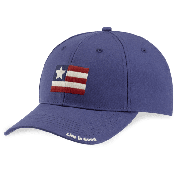 Life Is Good® Flag High Rise Chill Cap