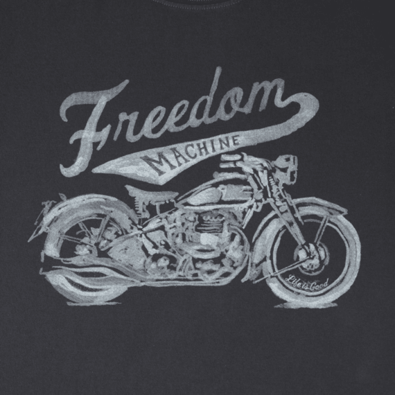 Life is Good® Men's Freedom Machine Crusher Tee
