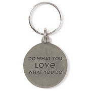 Life is Good Keep It Simple Daisy Keeper Keyring