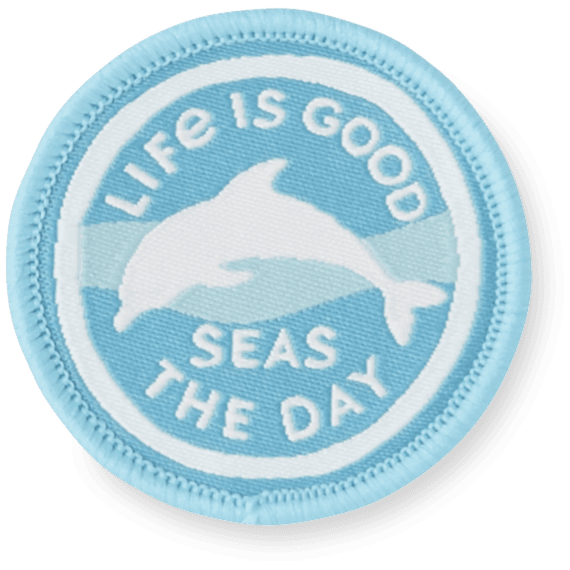 Life Is Good® Dolphin Days Patch