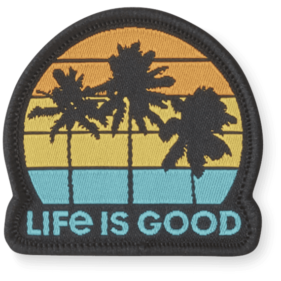 Life Is Good® Get Away Palms Patch
