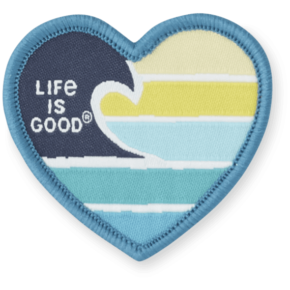 Life Is Good® Ocean Love Patch