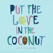 Life Is Good® Women's Love In the Coconut Crusher Vee