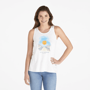 Life is Good Women's Walk To The Beach Breezy Tank
