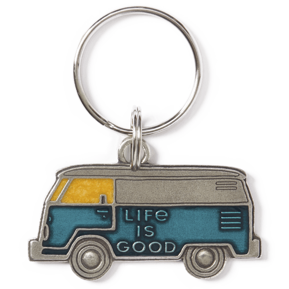Life is Good Van Keeper Keyring