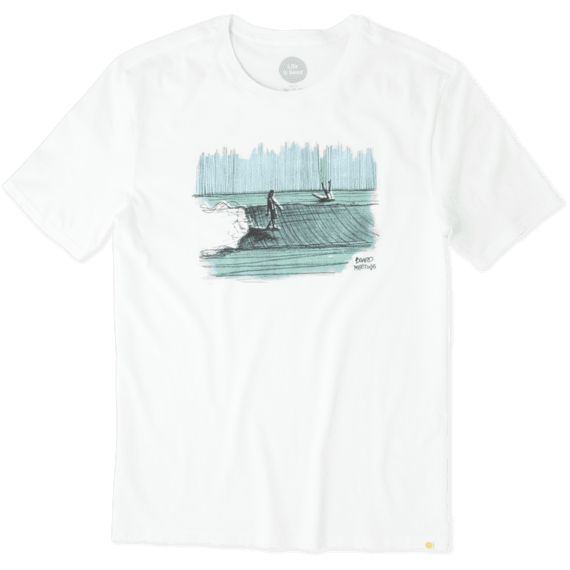 Life Is Good® Men's Board Meeting Surf Smooth Tee