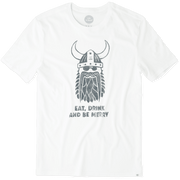 Life Is Good® Men's Viking Party Smooth Tee
