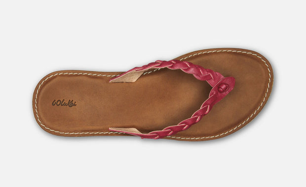OluKai Women's Kahiko Sandal (Burnt Red)