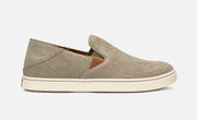 OluKai Women's Pehuea Leather Sneaker (Clay Honu)