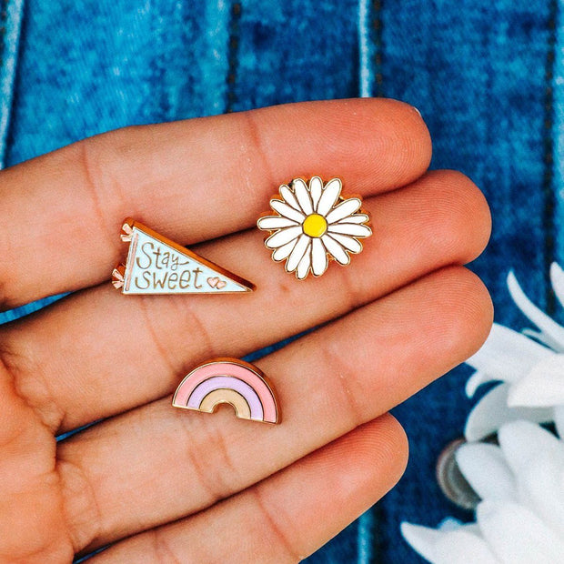 Pura Vida Sweet Valley Pin Set