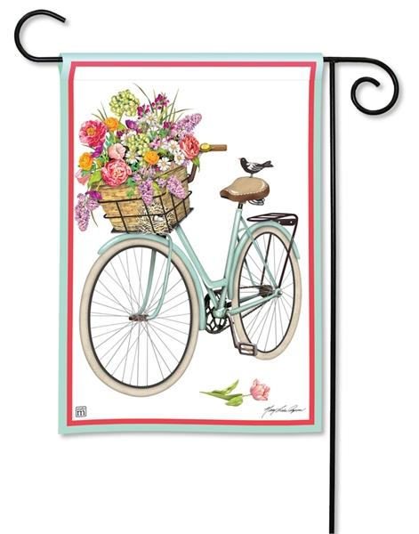 Bicycle Ride Garden Flag