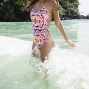 "Billabong® ""Tribe Time"" One Piece Swimsuit"