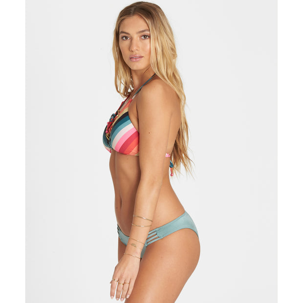 "Billabong® ""Color Spell"" Lace Up Cami Swim Top"