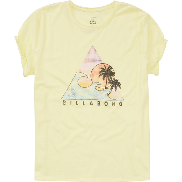 Billabong® Vibe With The Tide Graphic Tee (Sunkissed Yellow)
