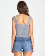 Billabong® Sun Dreamer Crop Top (Deja Blue)