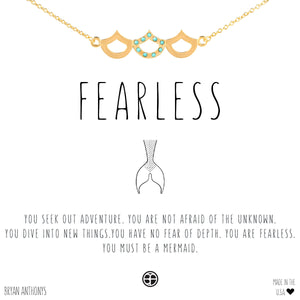 Bryan Anthonys Fearless Mermaid Necklace (Gold)