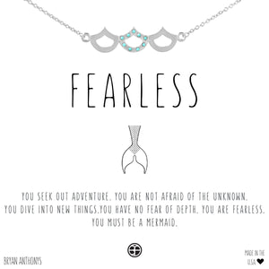 Bryan Anthonys Fearless Mermaid Necklace (Silver)