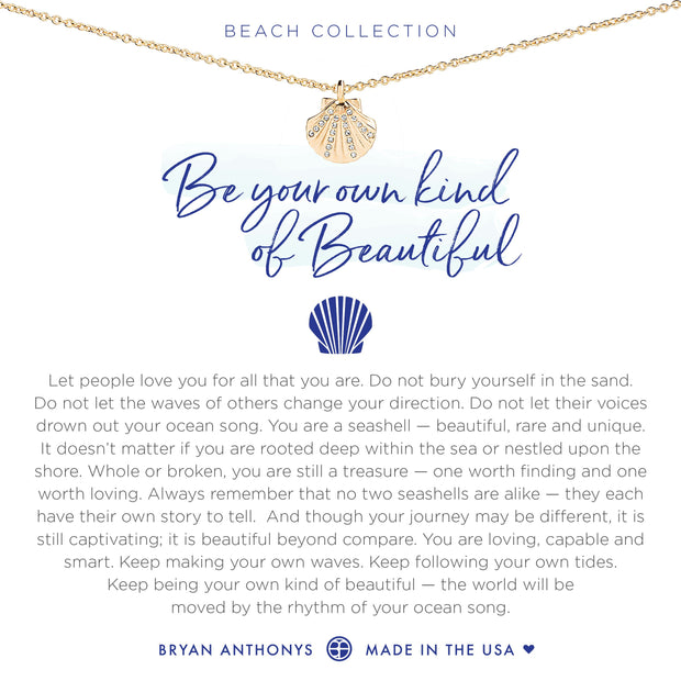 Bryan Anthonys Be Your Own Kind Of Beautiful Necklace (Gold)