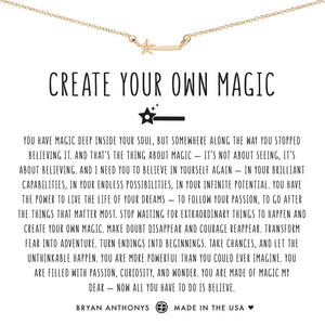 Bryan Anthonys Create Your Own Magic Necklace (Gold)