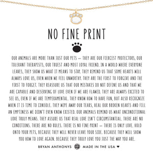 Bryan Anthonys No Fine Print Necklace (Gold)