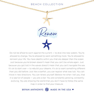 Bryan Anthonys Renew Necklace (Gold)