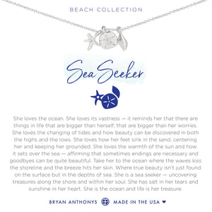 Bryan Anthonys Sea Seeker Necklace (Silver)