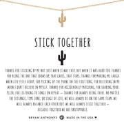 Bryan Anthonys Stick Together Cactus Necklace - Gold