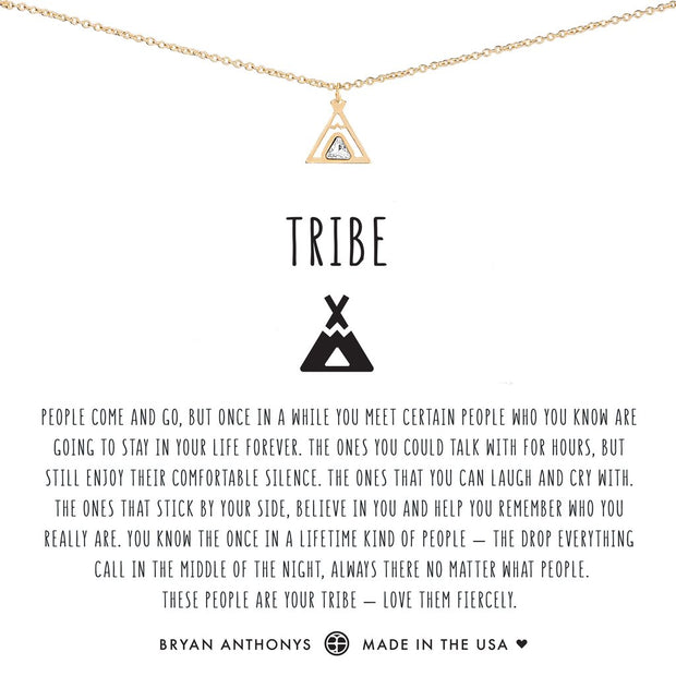 Bryan Anthonys Tribe Friendship Necklace (Gold)
