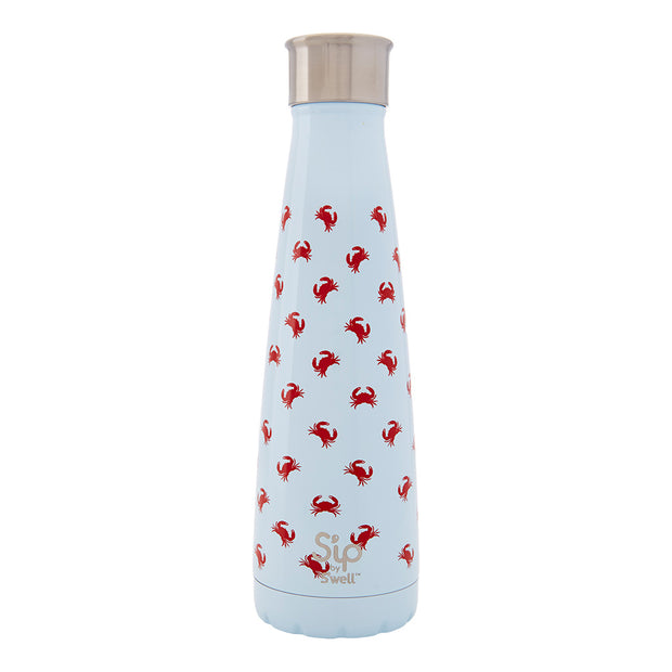 S'ip by S'well® Crab Walk Stainless Steel Water Bottle