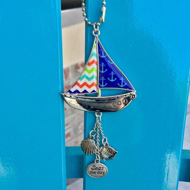 Sailboat Anywhere Charm