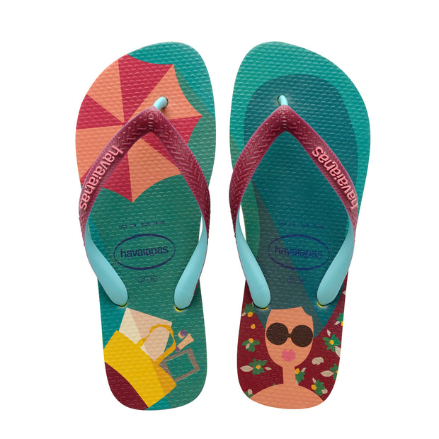 Havaianas Top Fashion Sandal (Petroleum)