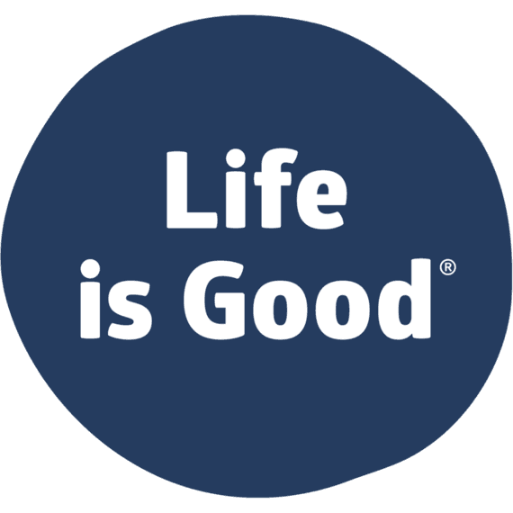 Life Is Good® Logo Sticker