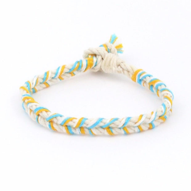 jayciMay Sarasota Sunset Braided Bracelet